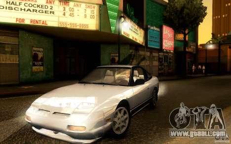 Nissan 180SX Kouki for GTA San Andreas left view