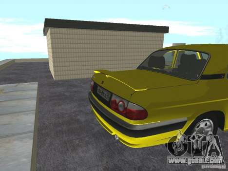 GAZ 31105 for GTA San Andreas right view
