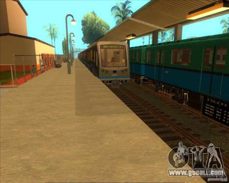 The high platforms at railway stations for GTA San Andreas second screenshot