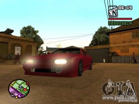 Ultra Elegy v1.0 for GTA San Andreas left view