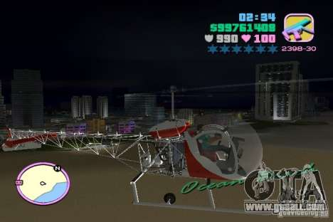Bell 47 for GTA Vice City right view