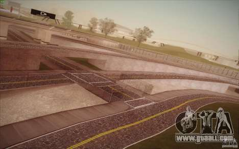 New roads San Fierro for GTA San Andreas ninth screenshot