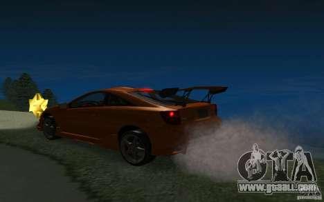 Toyota Celica for GTA San Andreas wheels