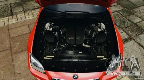 BMW M6 F13 2013 v1.0 for GTA 4 upper view