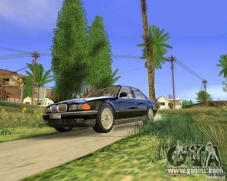 BMW 730i E38 1996 for GTA San Andreas