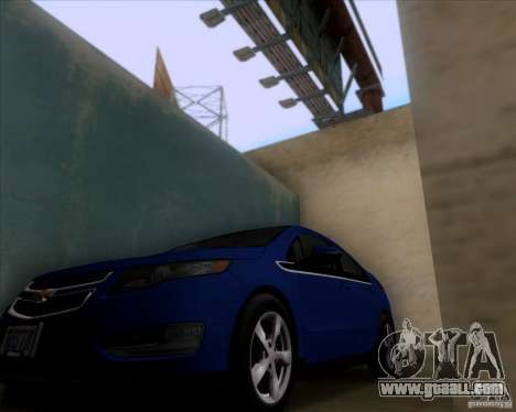 Chevrolet Volt 2012 Stock for GTA San Andreas right view
