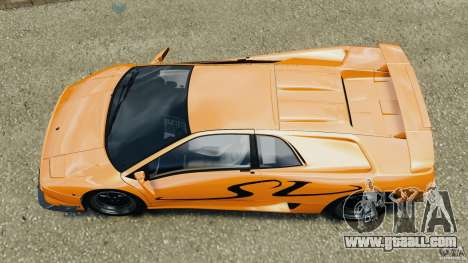 Lamborghini Diablo SV 1997 v4.0 [EPM] for GTA 4 right view