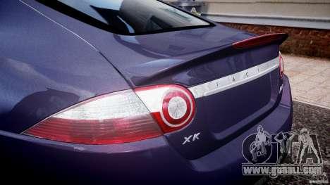 Jaguar XKR-S for GTA 4 upper view