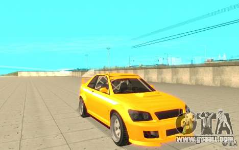 Sultan RS from GTA 4 for GTA San Andreas