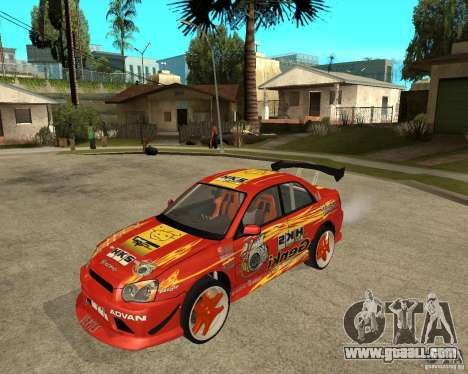 Subaru Impreza WRX STi D1 Spec for GTA San Andreas