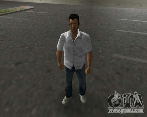 White shirt for GTA Vice City