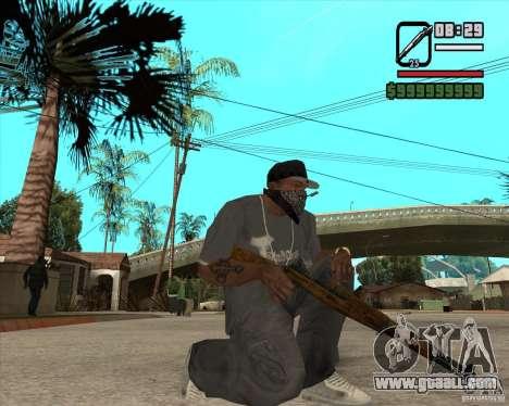 Pak weapons of Fallout New Vegas for GTA San Andreas fifth screenshot