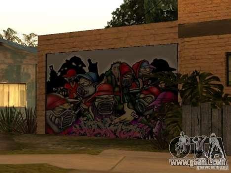 New home Cj for GTA San Andreas second screenshot