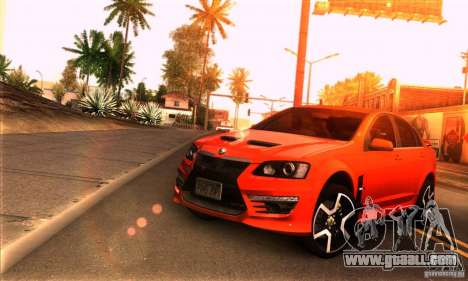 Holden HSV GTS for GTA San Andreas