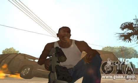 Intervenšn from Call Of Duty Modern Warfare 2 for GTA San Andreas second screenshot