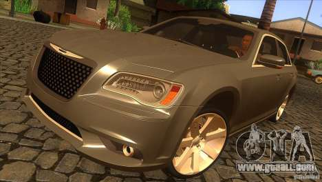 Chrysler 300 SRT-8 2011 V1.0 for GTA San Andreas upper view