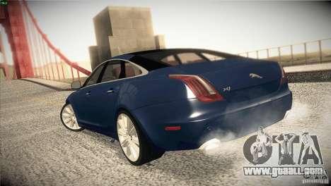 Jaguar XJ 2010 V1.0 for GTA San Andreas side view