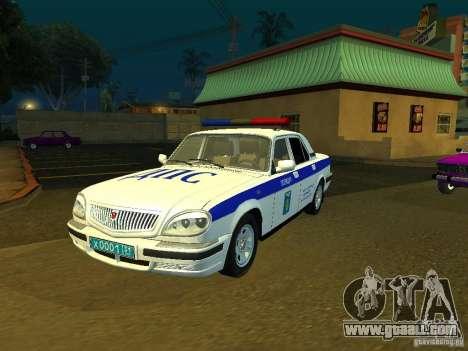 GAZ 31105 Police for GTA San Andreas