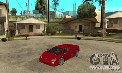 SSC Ultimate Aero Stock version for GTA San Andreas
