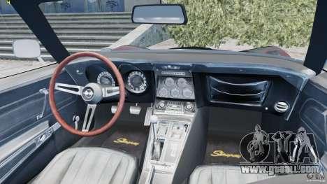 Chevrolet Corvette Stingray for GTA 4 side view
