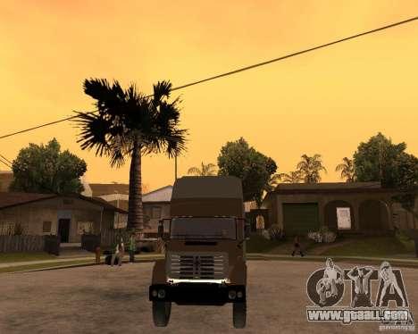 SuperZiL v. 2.0 for GTA San Andreas back view