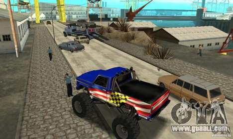 Avtoparkovŝik for GTA San Andreas fifth screenshot