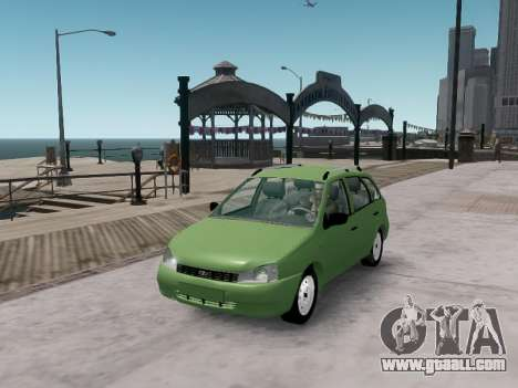 LADA 1117 station wagon Viburnum for GTA 4