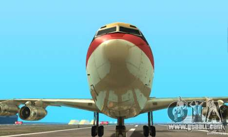 Boeing 707-300 for GTA San Andreas right view