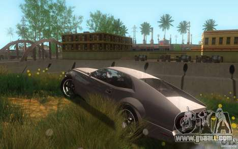 AMC Javelin 2010 for GTA San Andreas upper view
