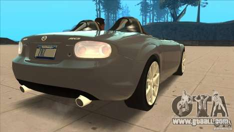 Mazda MX5 Miata Superlight 2009 V1.0 for GTA San Andreas right view
