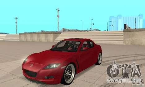 Mazda RX-8 for GTA San Andreas