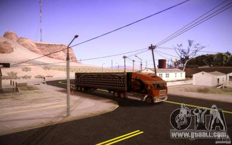 Box Trailer for GTA San Andreas right view