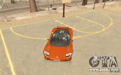 Veloche Car for GTA San Andreas left view