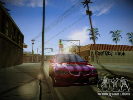 ENBSeries by Treavor for GTA San Andreas forth screenshot