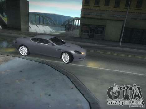 Aston Martin DB9 for GTA San Andreas left view