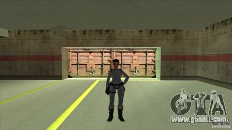 Lara Croft for GTA San Andreas