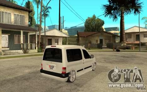 Citroen Berlingo 2007 for GTA San Andreas right view
