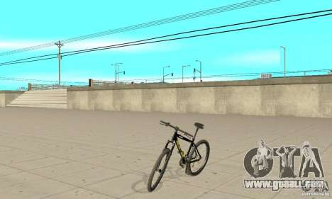 GT Dirtbike v.2 for GTA San Andreas back left view