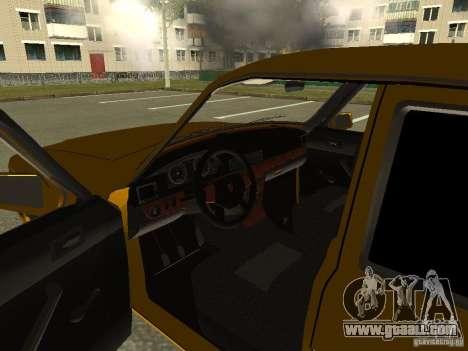 GAZ Volga 3102 for GTA San Andreas back view