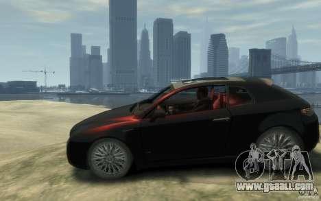 Alfa Romeo Brera for GTA 4 left view