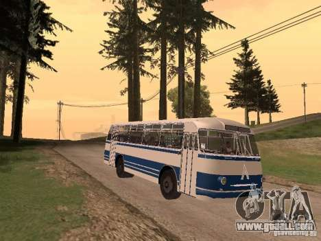 LAZ 695 m for GTA San Andreas left view
