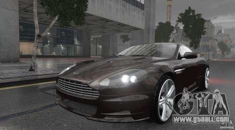 Aston Martin DBS v1.0 for GTA 4 back left view