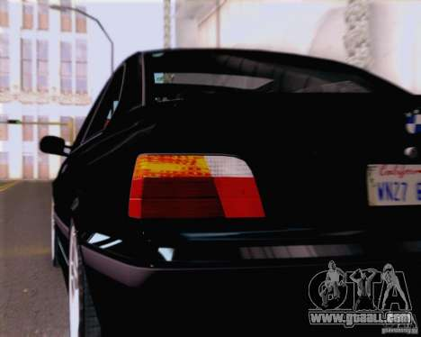 BMW M3 E36 New Wheels for GTA San Andreas inner view