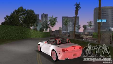 BMW Z4 2004 for GTA Vice City back left view