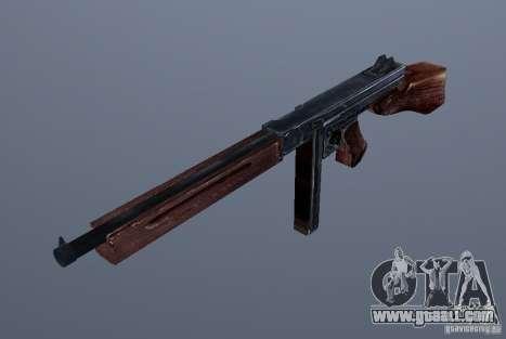 M1 (SMG Thomson) (v1.1) for GTA Vice City