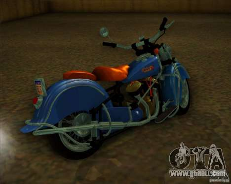 Indian Chief 1948 for GTA San Andreas right view