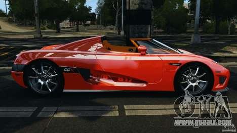 Koenigsegg CCX 2006 v1.0 [EPM][RIV] for GTA 4 left view