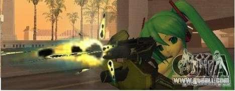 Half-Life weapon pack for GTA San Andreas forth screenshot