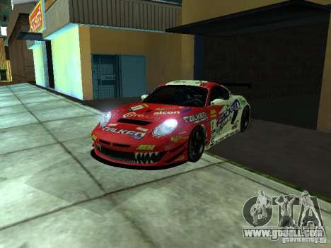 Porsche Cayman S NFS Shift for GTA San Andreas right view