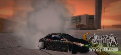 Mitsubishi Eclipse 1997 Drift for GTA San Andreas back view